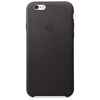 Apple iPhone 6 / 6s Leather Case - Black