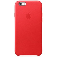 Apple iPhone 6 / 6s Leather Case - Red