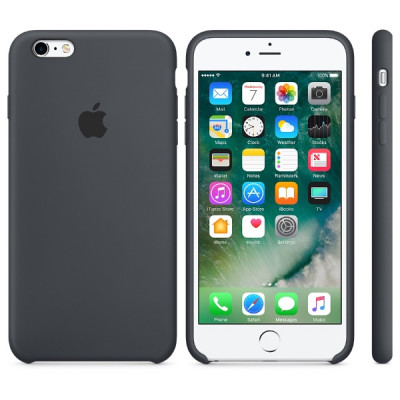Apple iPhone 6 / 6s Silicone Case - Charcoal Gray