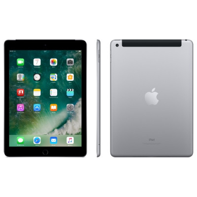 iPad Wi-Fi + Cellular 128GB - Space Gray