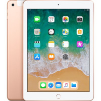 iPad 6 Wi-Fi + Cellular 32GB - Gold