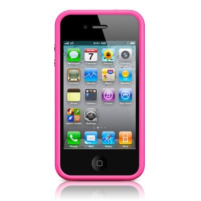 Apple iPhone 4/4S Bumper - Pink