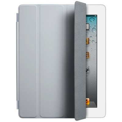 Apple iPad Smart Cover - Polyurethane - Light Gray