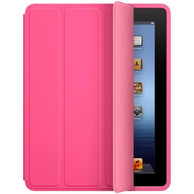 Apple iPad Smart Case - Polyurethane - Pink