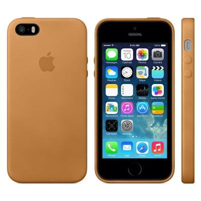 Apple iPhone 5s Case - Brown