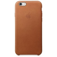 Apple iPhone 6 / 6s Leather Case - Saddle Brown