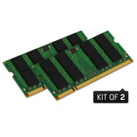 Kingston 4GB (2x2GB) 800MHz DDR2 (PC2-6400) SO-DIMM Kit for Mac