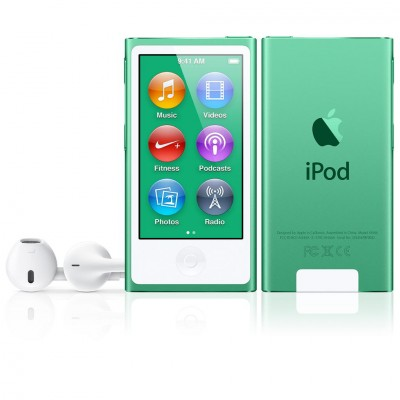 iPod nano (7G) 16GB - Green