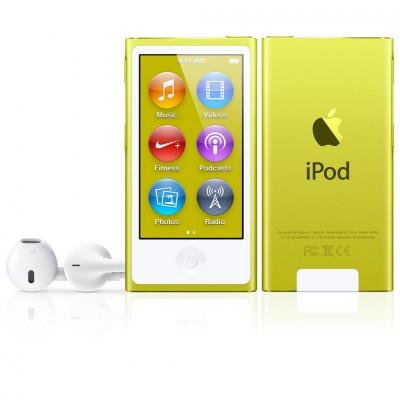iPod nano (7G) 16GB - Yellow