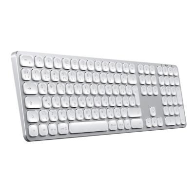 Satechi Bluetooth Wireless Keyboard for Mac - Silver
