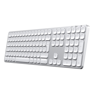 Satechi Bluetooth Wireless Keyboard for Mac - Silver