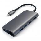 Satechi Aluminum Type-C Multimedia Adapter - Space Grey