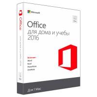 Microsoft Office для дома и учёбы 2016 для Mac – 1 Лицензия (Русский)