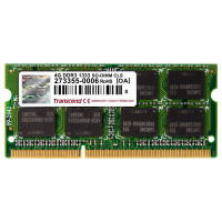 Transcend 4GB 1333MHz DDR3 (PC3-10600) SO-DIMM for Mac