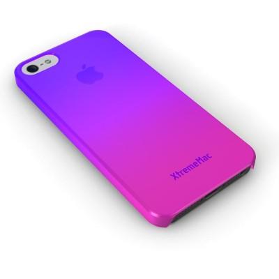 XtremeMac Microshield Fade for iPhone 5 - Purple/Pink (Фиолетовый/Розовый)