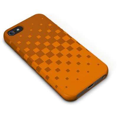 XtremeMac Tuffwrap for iPhone 5 - Tangerine (Оранжевый)