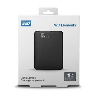WD Elements Portable 1TB