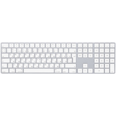 Apple Magic Keyboard with Numeric Keypad - Silver