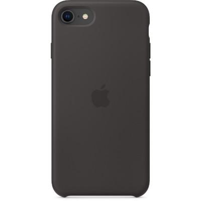Apple iPhone SE Silicone Case - Black