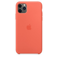 Apple iPhone 11 Pro Max Silicone Case - Clementine