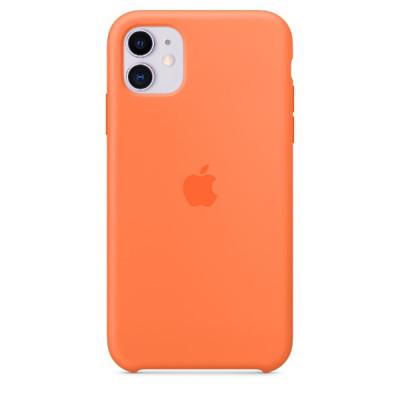 Apple iPhone 11 Silicone Case - Vitamin C