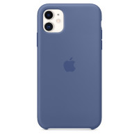 Apple iPhone 11 Silicone Case - Linen Blue
