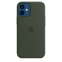 Apple iPhone 12 mini Silicone Case with MagSafe - Cyprus Green