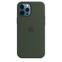 Apple iPhone 12 Pro Max Silicone Case with MagSafe - Cyprus Green