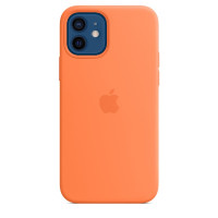 Apple iPhone 12 | 12 Pro Silicone Case with MagSafe - Kumquat