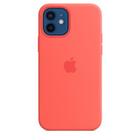 Apple iPhone 12 | 12 Pro Silicone Case with MagSafe - Pink Citrus