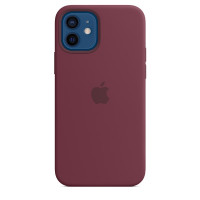 Apple iPhone 12 | 12 Pro Silicone Case with MagSafe - Plum