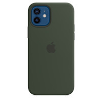 Apple iPhone 12 | 12 Pro Silicone Case with MagSafe - Cyprus Green