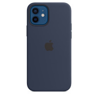 Apple iPhone 12 | 12 Pro Silicone Case with MagSafe - Deep Navy