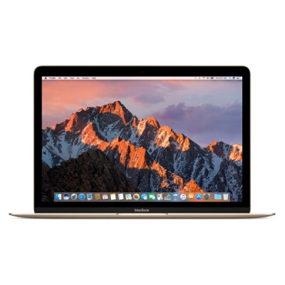 "MacBook 12"" dual-core Core m3 1.2ГГц • 8ГБ • 256ГБ • HD Graphics 615 - Gold"