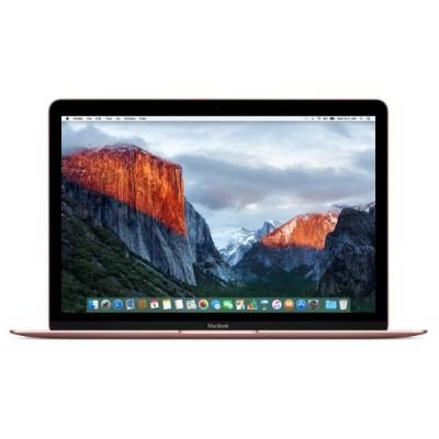 """MacBook 12"""" dual-core Core m3 1.1ГГц 8ГБ/256ГБ/HD Graphics 515 - Rose Gold"""