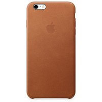 Apple iPhone 6 / 6s Plus Leather Case - Saddle Brown