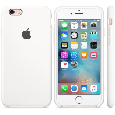 Apple iPhone 6 / 6s Silicone Case - White