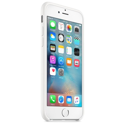 Apple iPhone 6 / 6s Silicone Case - White
