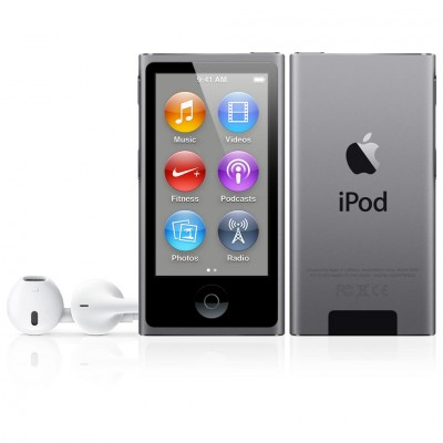 iPod nano (7G) 16GB - Space Gray