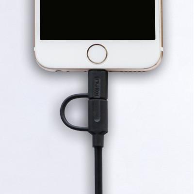 Kenu Tripline USB to Lightning/Micro-USB Cable - 2m