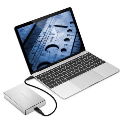 LaCie Porsche Design Mobile Drive 5TB - Silver