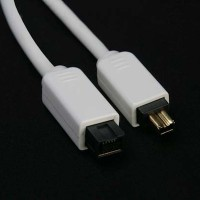 Logan FireWire 800 (9-pin) to FireWire 400 (4-pin) Cable - 2.0 м