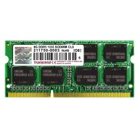 Transcend 8GB 1333MHz DDR3 (PC3-10600) SO-DIMM for Mac