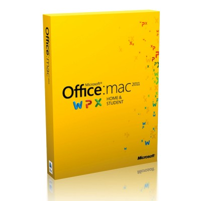 Microsoft Office for Mac Home and Student 2011 - 1-Pack (Русский)