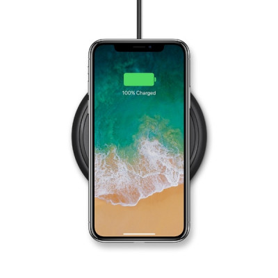 mophie Wireless Charging Base - Black