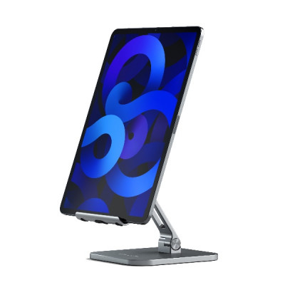 Satechi Aluminum Desktop Stand for iPad - Space Gray