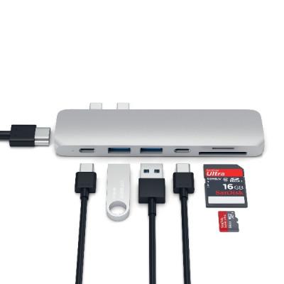 Satechi Aluminum Type-C Pro Hub Adapter - Silver