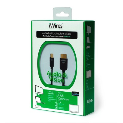 Techlink iWires Mini DisplayPort to HDMI Cable (5.0 m)