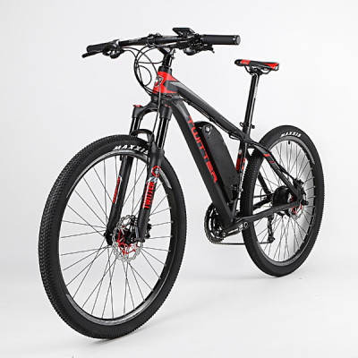 "Twitter MANTIS-E1 17"" - Black/Red"